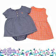 #Prendas que inspiran la alegría y el amor que los #Bebés nos regalan! #Recién #Nacidos #Conjunto #Vestido 3er.Piso