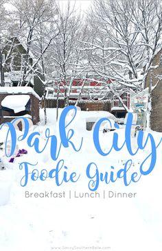 Foodie's Guide to Park City – Tastebud Travels Park City Utah, Salt Lake City Utah, Texas Travel, Travel Usa, Food Travel, Utah Vacation, Valley Park, Spring Break, Travel Destinations