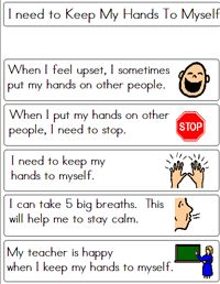 Great Social stories to print off on this site! Great teacher resource whether you teach Special Ed or Regular Ed - great visuals for all students who do not respond to verbal commands! Teaching Social Skills, Social Emotional Learning, Classroom Behavior, Autism Classroom, Speech Language Therapy, Speech And Language, Behaviour Management, Classroom Management, School Social Work