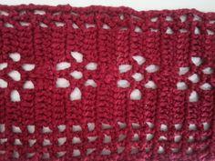 Motivo de flor en tejido de crochet/ganchillo