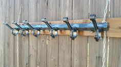 Connecting Piston Rod Coat Rack, Automobile art, coat holder, jacket, wall, up-cycled, re-purposed, automotive, hanger, salvaged