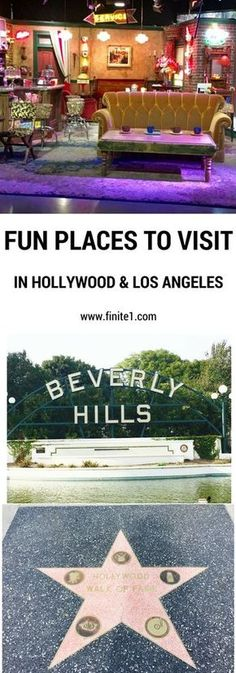 Fun place to visit in Hollywood. Fun places to visit in Los Angeles. Things to do in Hollywood. Things to do in Los Angeles. California. Travel to California. Beverly Hills. Disneyland. Friends TV Show Freinds. #britairtrans