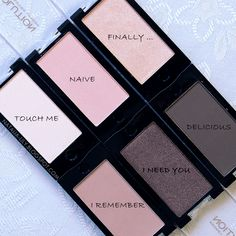 natalia-lily: Beauty Blog: MAKEUP REVOLUTION MONO EYESHADOW: TOUCH ME, NAIVE, FINALLY ..., I REMEMBER, I NEED YOU, DELICIOUS | tanie cienie warte uwagi