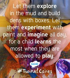Messy play is important!
