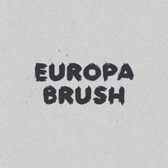 Introducing Europa Brush – a san serif font with heavily textured brush strokes and a natural painterly feel. Grab it for FREE. Link in my bio 👆 . . Day 041 #handtype #lettering #handlettering #typeface #handdrawn #handwriting #handwritten #handdrawntype #type #brushscript #lettertype #font #typography #script #typeservices #dailytype #handmadefont #freefont #free #freebie #handmade Hand Drawn Type, Hand Type, Types Of Lettering, Hand Lettering, Paint Types, Brush Script, Sans Serif Fonts, Premium Fonts, Type Design