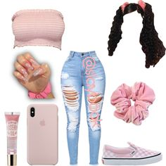 Really Cute Outfits, Cute Lazy Outfits, Swag Outfits For Girls, Cute Swag Outfits, Teenage Girl Outfits, Girls Fashion Clothes, Basic Outfits, Teenager Outfits, Dope Outfits