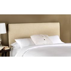 Cotton Duck Upholstered Headboard, Multiple Colors