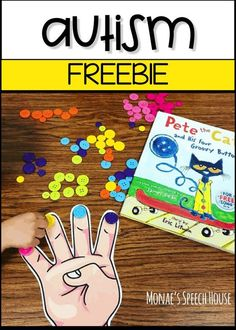 Use this free resource to target multiple speech and language goals, early literacy, Pete the Cat, buttons, and lots more! SLPs can target re. Autism Activities, Speech Therapy Activities, Language Activities, Sequencing Activities, Therapy Games, Language Lessons, Reading Activities, Therapy Ideas, Autism Classroom