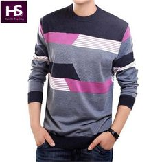 O-Neck Sweater Men Clothing Mens Sweaters Knit Wool Cashmere pullover Men Brand Pull Homme Casual Dress Long Sleeve Shirt Brand
