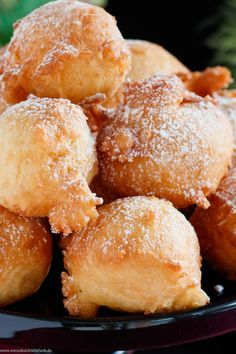 Quark balls - made so simple - easy to cook - kochen - Recipes Mexican Food Recipes, Sweet Recipes, Dessert Recipes, Ethnic Recipes, Pretzel Bites, Food Photo, Food Network Recipes, Muffins, Food And Drink