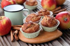 Want an incredible Apple Strudel Muffins Recipe? Make them in under an hour, top them how you like, and have the lovely scent of baking apples fill your home! Get the full recipe here, along with a great video tutorial. Muffin Recipes, Breakfast Recipes, Dessert Recipes, Crazy Cakes, Cooking Bread, Homemade Applesauce, Apple Bread, Muffin Mix, Baked Donuts