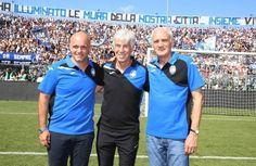 Atalanta - Luca e Antonio Percassi con Gasperini Atalanta Bc, Sport, Deporte, Sports