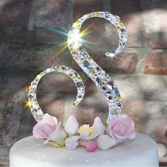 Labor Day Promo!  Use code: LABOR15 to receive 15% off on all orders! Monogram Cake Toppers, Gold Cake Topper, Wedding Bells, Wedding Day, Different Shapes, Wedding Accessories, Happy Shopping, Wedding Planner, Swarovski Crystals