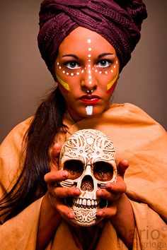 Maribel (African Tribe Make-Up)    Enjoy, share :) http://www.youtube.com/watch?v=ywsqahGu3M0