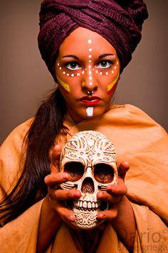 Maribel (African Tribe Make-Up) Enjoy, share :) http://www.youtube.com/watch?v=ywsqahGu3M0