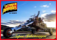 Super-Triketwagen de Factoría de Androides www.satrapa.es