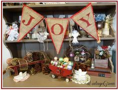 Creative Cain Cabin: Christmas Decorating on a Budget Party