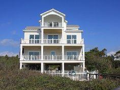 St George Island House Rental: Salt Life - 8br / 7.5ba - Private Beachfront Pool - Family Friendly | HomeAway