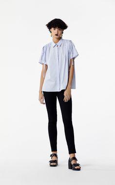 BLACK Slim Jeans KENZO Logo for women