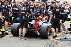 Red Bull Racing practice pit stops. Formula One World Championship, Rd10, German Grand Prix, Preparations, Hockenheim, Germany, Thursday, 19 July 2012  © Sutton Images.