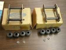 NOS OEM Ford 1965 1973 Mustang Spring Shackle Kits 1966 1967 1968 1969 1970 1971