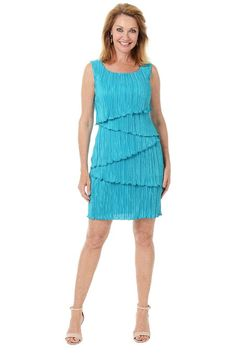 Sleeveless Tier Dress: