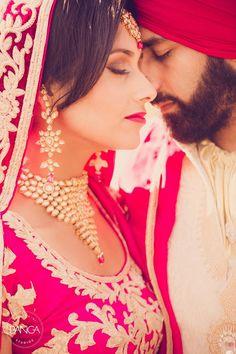 Lovely Punjabi Couple, via http://ViyahShaadiNikkah.tumblr.com/ #Desi ~