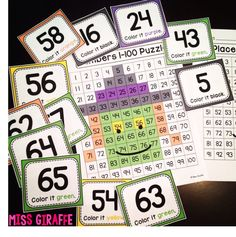 Number sense witch puzzle for Halloween that is SO FUN! Click for directions!