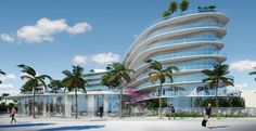 Another Enrique Norten Bldg. At The Tippy Tip Of South Beach