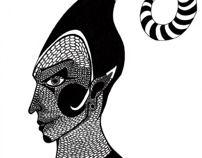 Circense 2 por Julia Guedes #ilustration #art #drawing #nanquim #circo