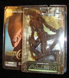 Movie Maniacs Alien Warrior 2003 8 inches Detailed Mini Poster Stand Retired | eBay