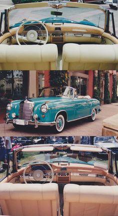 La Mercedes Benz de Marilyn Monroe un classique sublime ! La couleur est franchement exceptionnelle ! #voiture #vintage #car