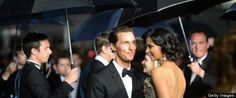 Matthew McConaughey and his bride Camila Alves are the portrait of happiness in photos from their June 9 at-home wedding in Austin, Texas.