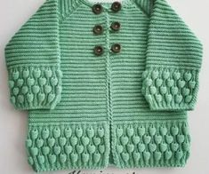 Knitting Patterns, Knitting Designs, Knitting For Beginners. Crochet Baby Sweaters, Baby Sweater Knitting Pattern, Knitted Baby Cardigan, Baby Hats Knitting, Baby Knitting Patterns, Knitting Designs, Hand Knitting, Knitted Hats, Big Knits