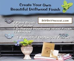 Furniture Makeovers | Decorative Uses For Gift wrap | Painted Furniture | InMyOwnStyle.com