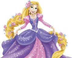 Princess Rapunzel PNG by biljanatodorovic.deviantart.com