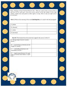 PARCC 8th Grade Reading Lesson Plan Samples Pg.5