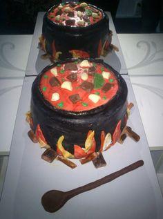 bogrács  torta