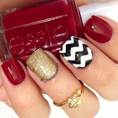 i think these will be my nails for christmas time!!