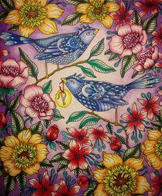 Inspirational Coloring Pages by Hanna Karlzon | Jo-Anne Tan #inspiração #coloringbooks #livrosdecolorir #jardimsecreto #secretgarden #florestaencantada #enchantedforest #reinoanimal #animalkingdom #adultcoloring #johannabasford #lostocean #oceanoperdido #milliemarotta #tropicalwonderland