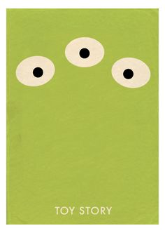 Toy Story - Minimal Movie Poster