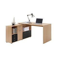 flexi wooden corner computer desk in canadian oak in 2019 new nest desk wooden corner desk