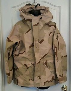 US Military - Cold Weather Desert Camouflage Parka