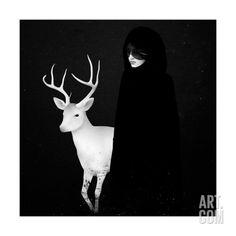 Absentia Art Print by Ruben Ireland at Art.com