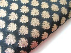 "Nouveau Designer Multicolore Leafs Jacquard Brocade tissu 59/"" 150 cm"