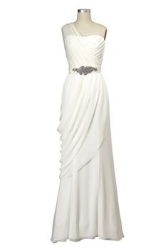 The Bride Gown $600, White by Vera Wang.