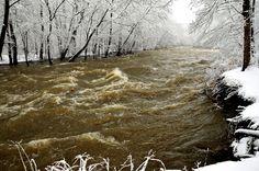 Cuyahoga River in Cascade Valley Metro Park, photo by volunteer Joe Prekop