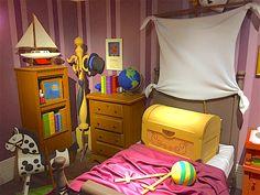 ✶ John and Michael's room. ★