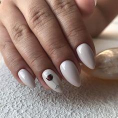 Minimalist Nails, Fall Nail Designs, Manicure And Pedicure, Nail Art, My Style, Beauty, Nail Ideas, Work Nails, Dibujo