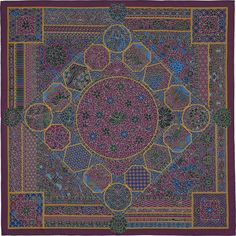 """7fc8c6d747b4 36"""" x 36"""" scarf Hermès   Collections Imperiales by Catherine Baschet AW  2015 CW"""
